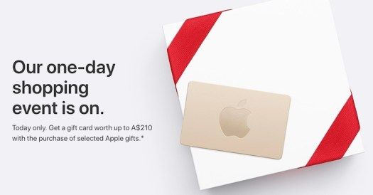 Apple's Black Friday Event Begins in Australia and New