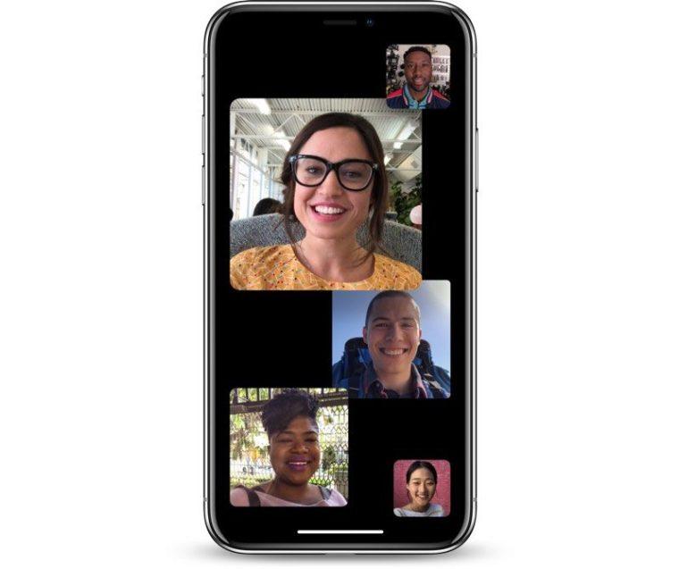 groupfacetime 800x670 - تعرف على الميزات الجديدة والتحسينات التي ستطرحها آبل في نظام IOS 12