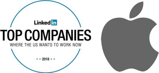 Apple Rises to Sixth in LinkedIn's 2018 List of Top