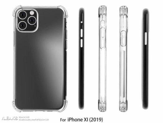 2019 OLED iPhone Case Renders Mirror Leaked Design