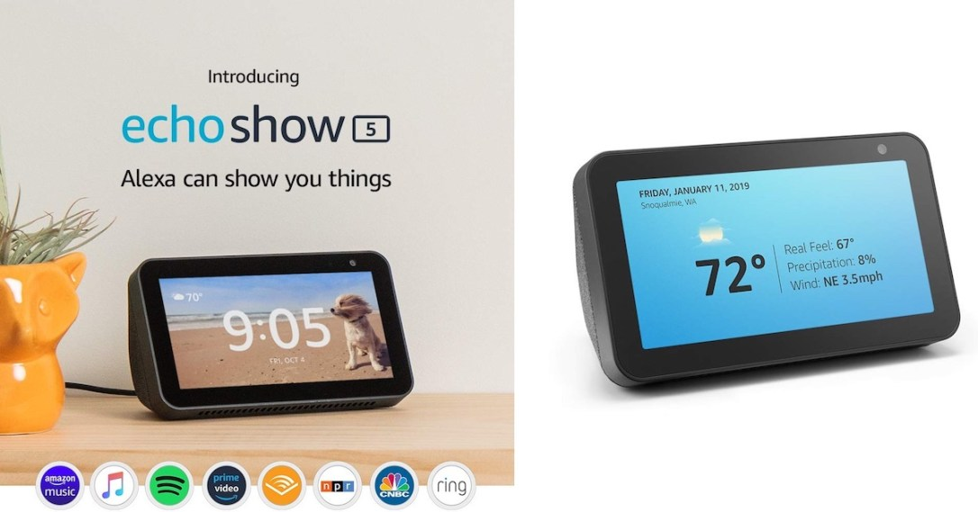 Image result for amazon echo show 5