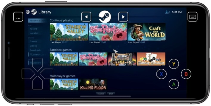 Image result for Steam Link ios