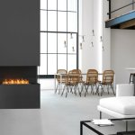 Flex 104rc Bxl Right Corner Fireplace Insert Ecosmart Fire