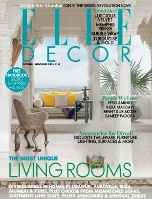 Elle Decor India Magazine August September 2016