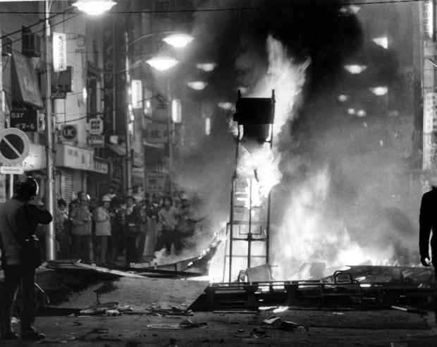 「71年に東京都で起きた渋谷暴動事件」の画像検索結果