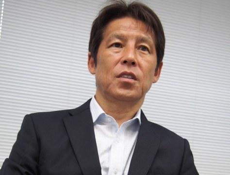西野朗・協会技術委員長=大島祥平撮影