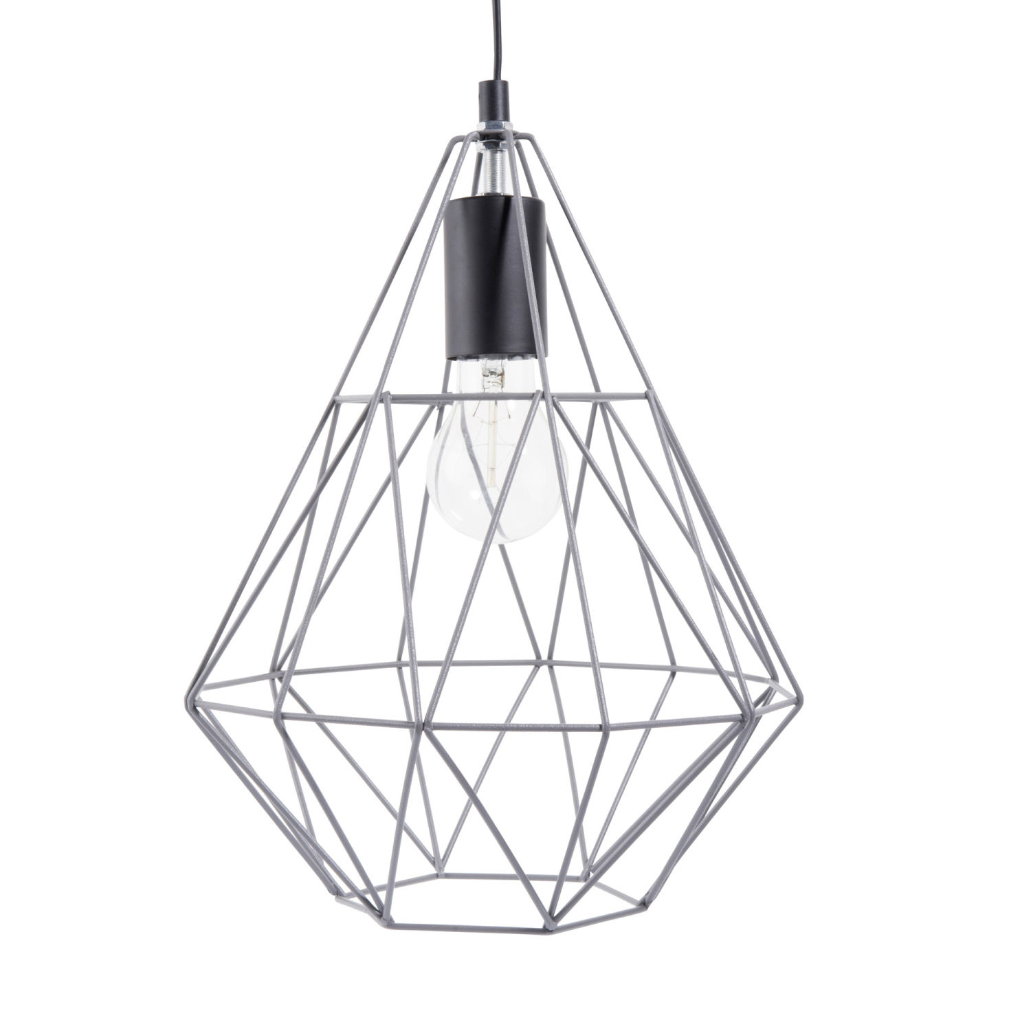 Metal Wire Pendant Lamp H 32cm