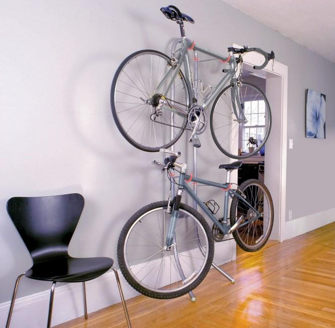 Michelangelo Two Bike Gravity Storage Rack