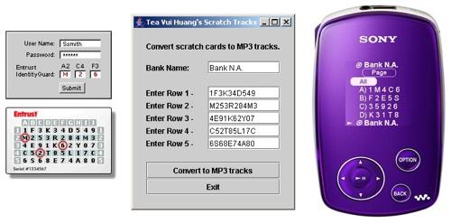 Mp3 Scratch Card