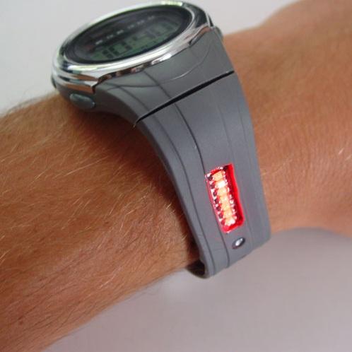 synchronized wristwatch
