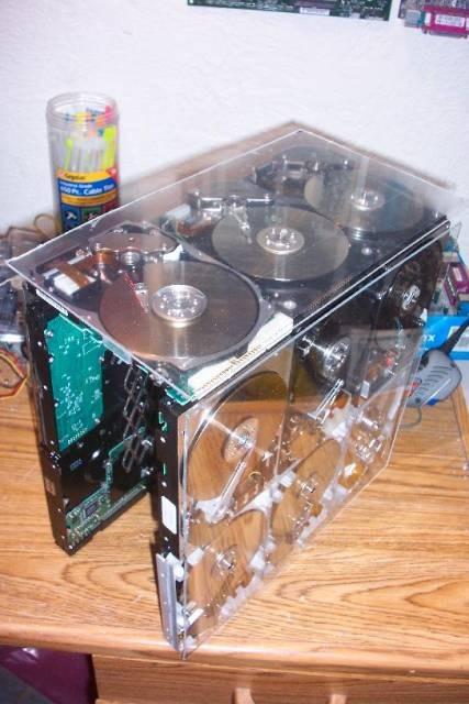 Hard Drive Case Mod 9