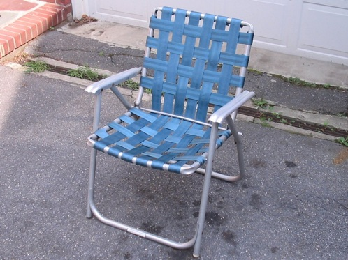 Mark Writes U2013 U201cu2026still Like The Old Style Aluminum Folding Lawn Chairs To  Me, As A Bigger Guy, They Are Much More Comfortable Than The New  Collapsible ...