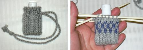 Knittedhandsanitizer