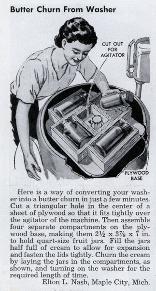 Lrg Butter Curn Washer