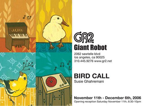 Birdcall-Post