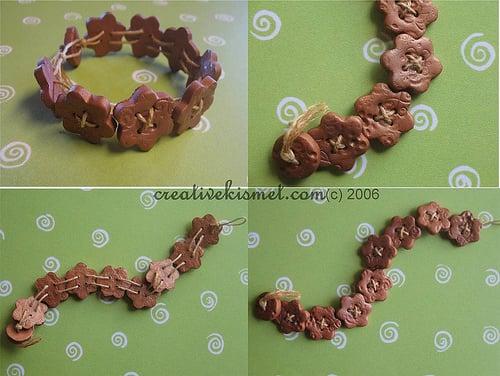 Polymerclay Bracelete