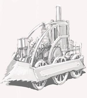 Steam Sketch 5