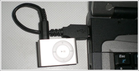 homemade usb cable for the new ipod shuffle make nicolas built a usb cable for the new super tiny ipod shuffle pinout and pictures here link translated page