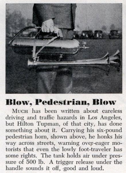 Lrg Blow Pedestrian Blow