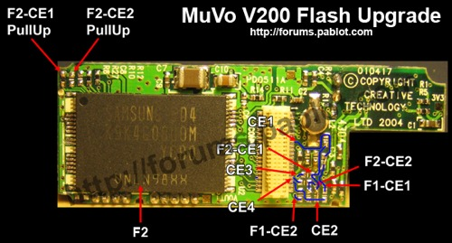 Muvo V200 Flash Upgrade S