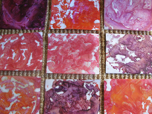 Marbled Samples 3