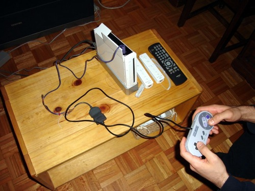 SNES/NES controller to gamecube/Wii conversion project