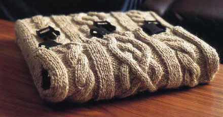 Cableknitlaptopcover