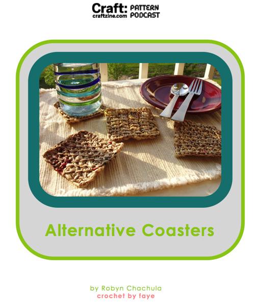 Craftpodcast Crochetcoasters