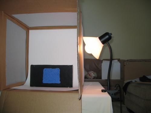 Light Box Setup For Shot.Jpg