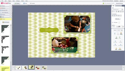 Scrapblog Frames