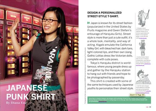 03 Diana Punkshirt