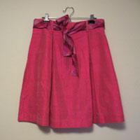 Fuschiapleatedskirt