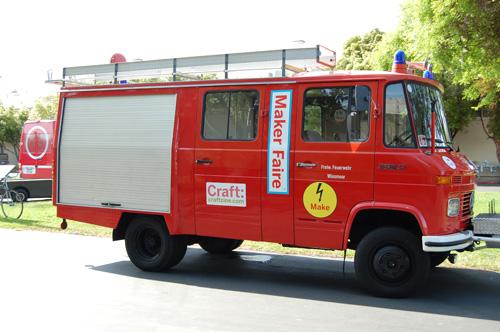 Makerfaire Firetruck