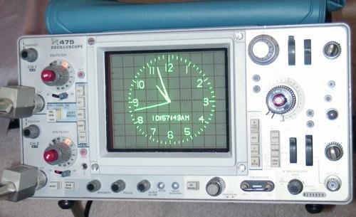 $35 AVR Oscilloscope clock kit | Make: