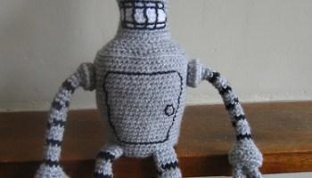 Cute crochet robot amigurumi pattern | Amigurumi pattern, Crochet ... | 200x350