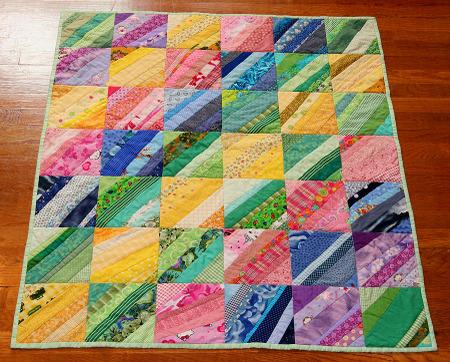 Happthings Stripes Quilt