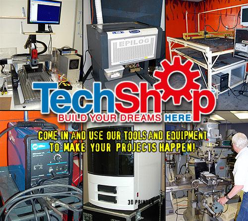 Techshop Make Blog
