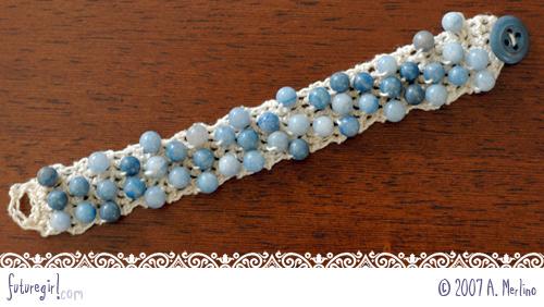Crochet Bracelet 01 O