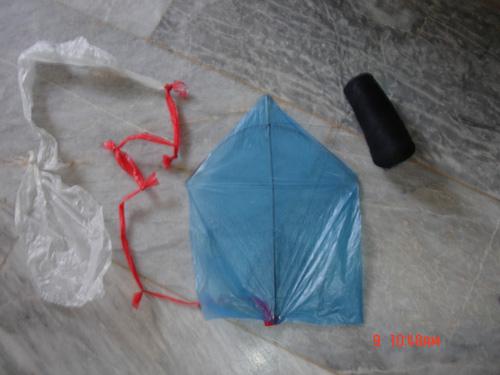 Simple Plastic Kite 321