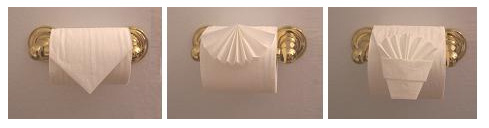 Toiletpaper Origami