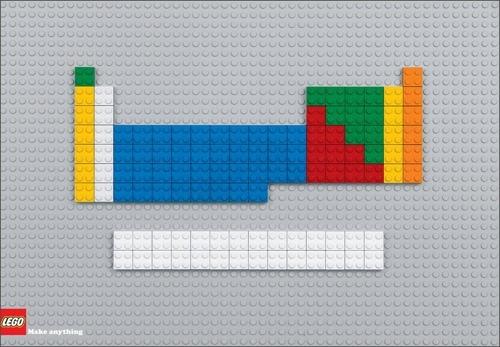 Blog Lego Table