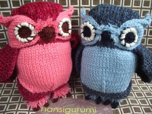 Hansigurumi Owls