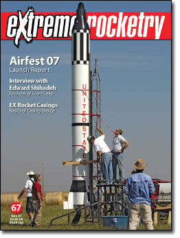 Extreme Rocketry magazine   Make:
