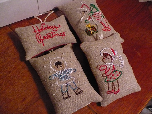 Stitchedornaments