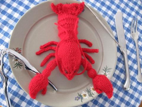 Knit Lobster Make