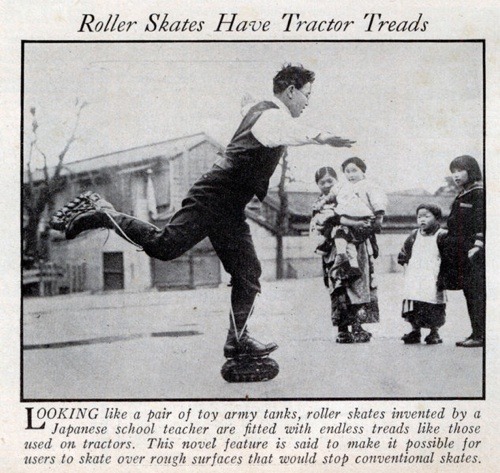 Lrg Tread Skates