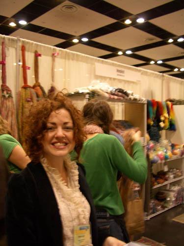 Stitches West 2006 Knitting Expo in Santa Clara, CA Make: