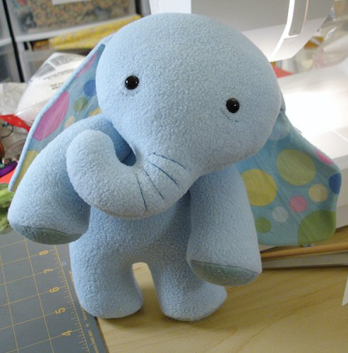 sewing stars elephant
