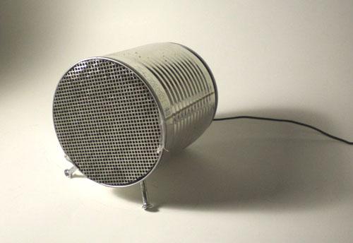 Speaker Tin