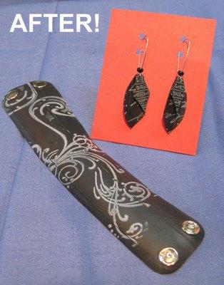 Bracelet Earrings Glamshot